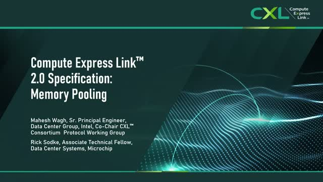 Compute Express Link™ 2.0 Specification: Memory Pooling