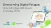 Overcoming Digital Fatigue in APAC: How to Engage B2B Buyers in a Noisy World