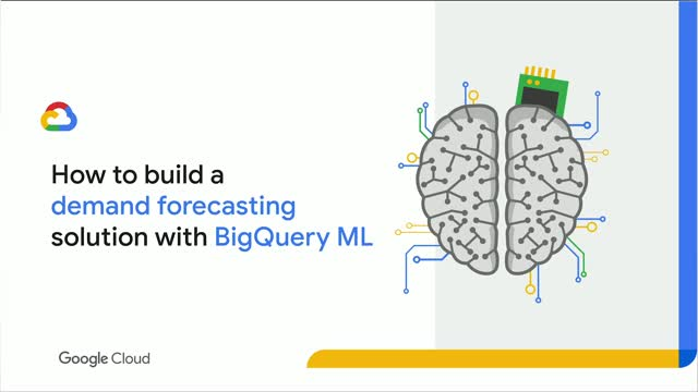 How to do demand forecasting with BigQuery ML