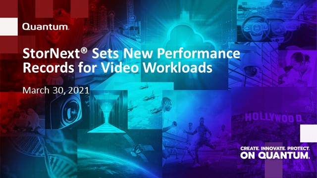 SPEC-SFS - The Fastest File System on the Planet for Video Workloads