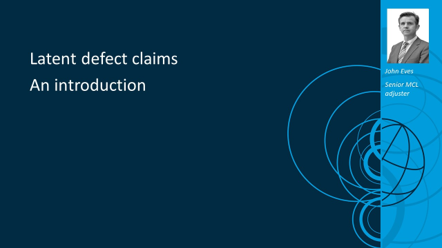 Latent defect claims – an introduction