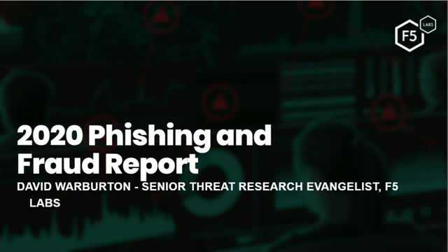 2020 Phishing and Fraud Report: Insights into what modern phishing looks like