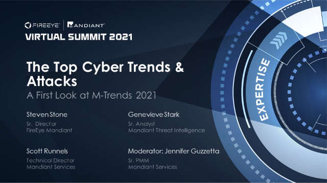 The Top Cyber Trends and Attacks: A First Look at M-Trends 2021