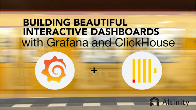 Building Beautiful Interactive Dashboards with Grafana and ClickHouse