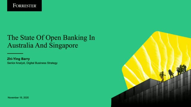 State of Open Banking: Lessons from Australia and Singapore