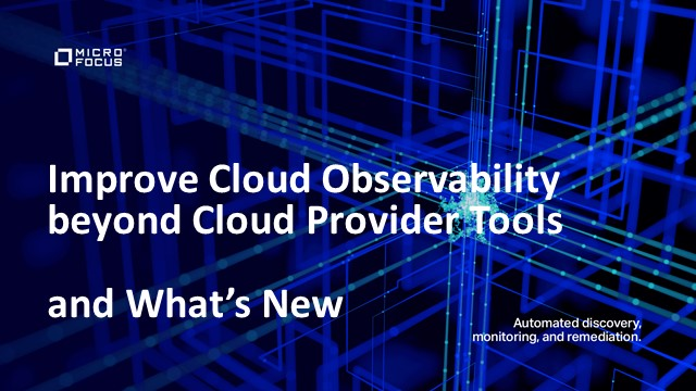 Improve Cloud Observability beyond Native Cloud Provider Tools