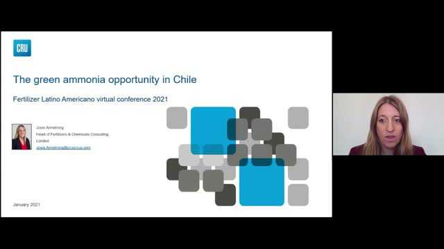 The green ammonia market opportunity in Chile and Latin America