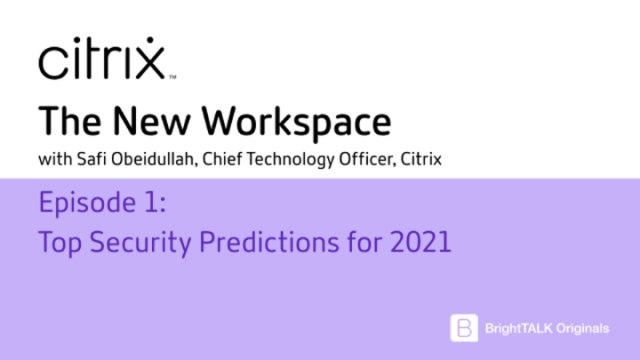 Top Security Predictions for 2021