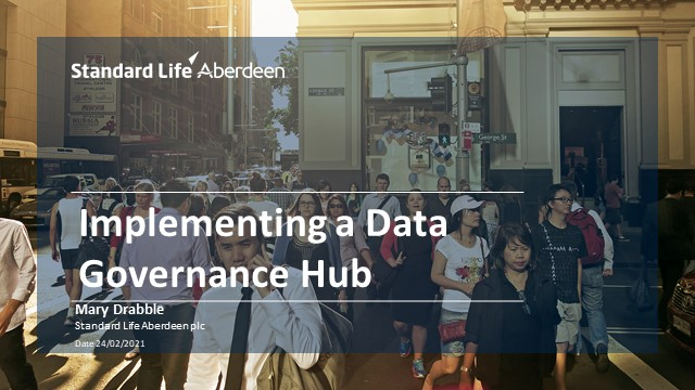 A Case Study in implementing a Data Governance Hub