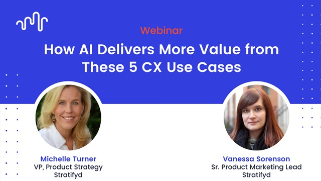 How AI Delivers More Value from These 5 CX Use Cases