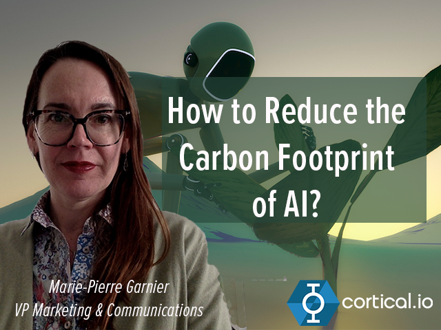 How to Reduce the Carbon Footprint of AI?