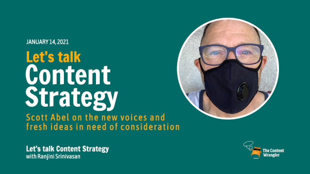 Let's Talk Content Strategy: New Voices and Fresh Ideas in Need of Consideration