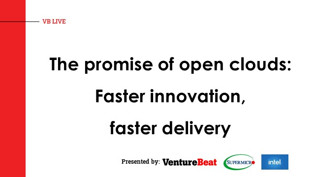 The promise of open clouds: Faster innovation, faster delivery