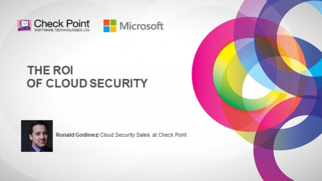 The ROI of Cloud Security with Microsoft and Check Point (Spanish)