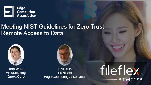 Meeting NIST Zero Trust Standards Regarding  Remote Data Access and Sharing