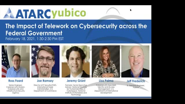Telework impact on Cybersecurity across Federal Government