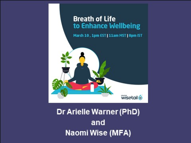 Breath of Life to Enhance Wellbeing