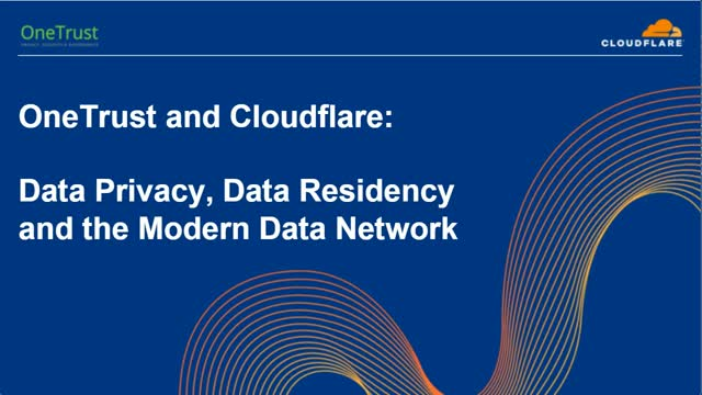 Data Privacy, Data Residency and the Modern Data Network