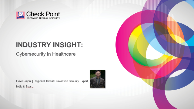 Industry Insight: Cybersecurity in Healthcare
