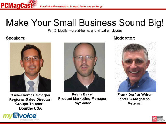 Make Your Small Business Sound Big! Part 3