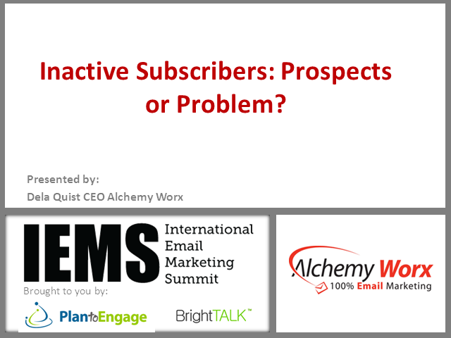 Inactive Subscribers: Prospects or Problem?