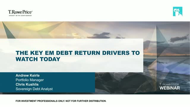 The key EM debt return drivers to watch today