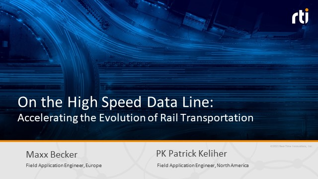 On the High Speed Data Line: Accelerating the Evolution of Rail Transportation