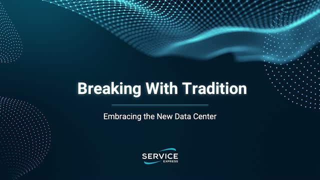Breaking With Tradition: Embracing the New Data Center