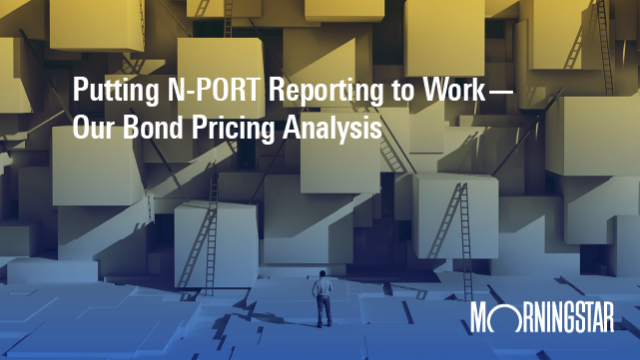 Putting N-PORT Reporting to Work - Our Bond Pricing Analysis