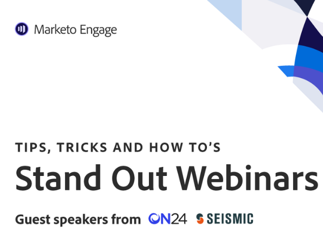 Tips, Tricks and How To's: Stand Out Webinar