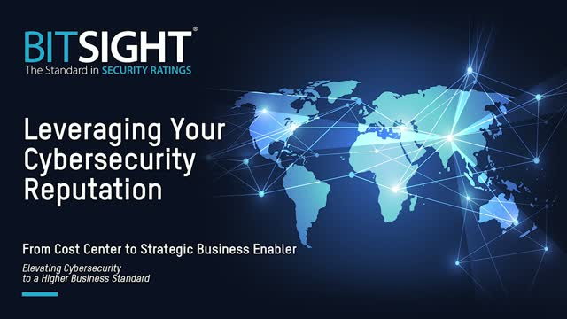 Leveraging Your Cybersecurity Reputation EMEA