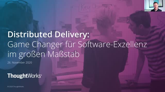 Distributed Delivery: Game Changer for Software Excellence (in German)