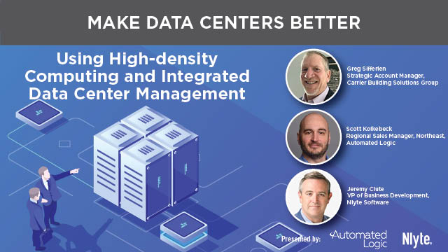 Using High-density Computing and Integrated Data Center Management