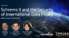 Schrems II and the Security of International Data Flows