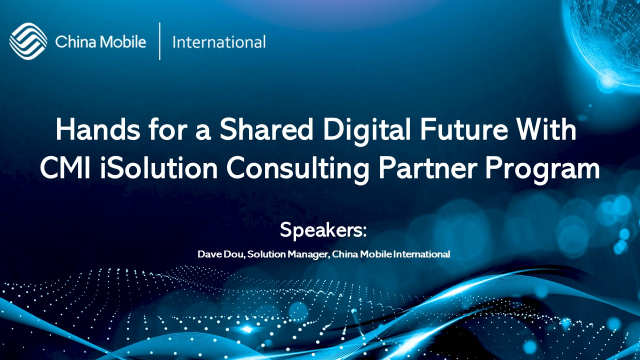 Hands for a Shared Digital Future with CMI iSolutions Consulting Partner Program