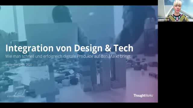 Integrating Design & Tech: Bringing digital products to market (in German)