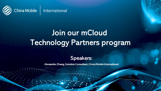 Join CMI mCloud Technology Partners program