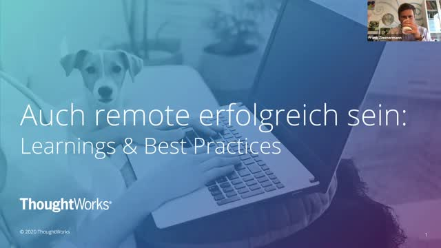 Successful despite remote setup: Learnings & Best Practices (in German)