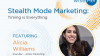 Stealth Mode Marketing: Timing is Everything