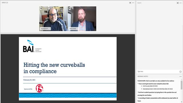 Hitting the New Curveballs in Compliance