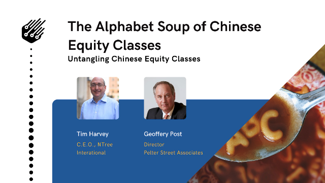 The Alphabet Soup of Chinese Equity Share Classes