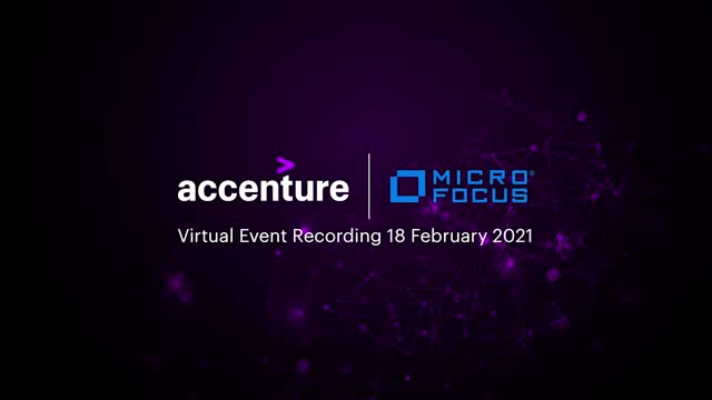 IS YOUR DATA SECURE Accenture Micro Focus Digi Event