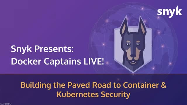 Building the Paved Road to Container and Kubernetes Security Advice
