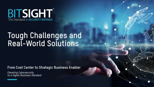 Third Party Risk: Tough Challenges and real world solutions