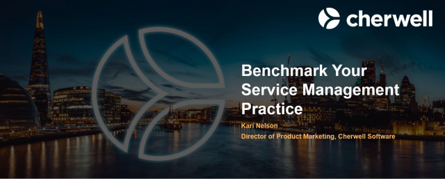 Benchmark Your Service Management Practice