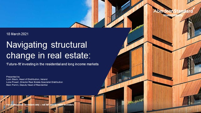 Navigating structural change in real estate: 'future-fit'