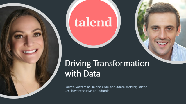 Driving transformation with data: insights from the C-suite