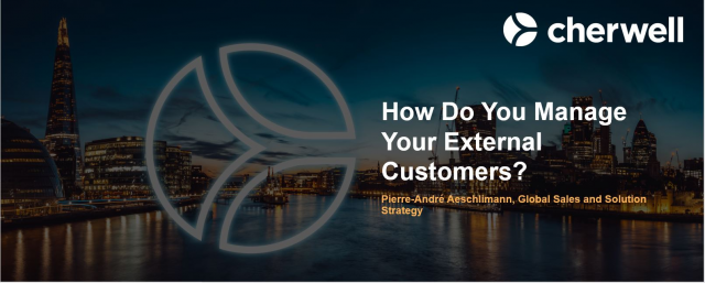 How Do You Manage Your External Customers?