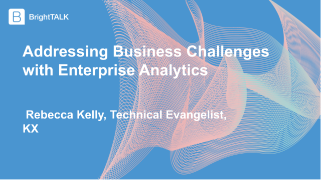 Addressing Business Challenges with Enterprise Analytics