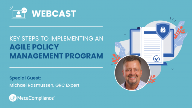 Key Steps to Implementing an Agile Policy Management Program